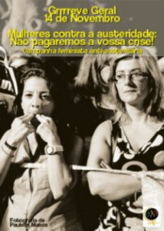 Mulheres contra a austeridade greve geral 1